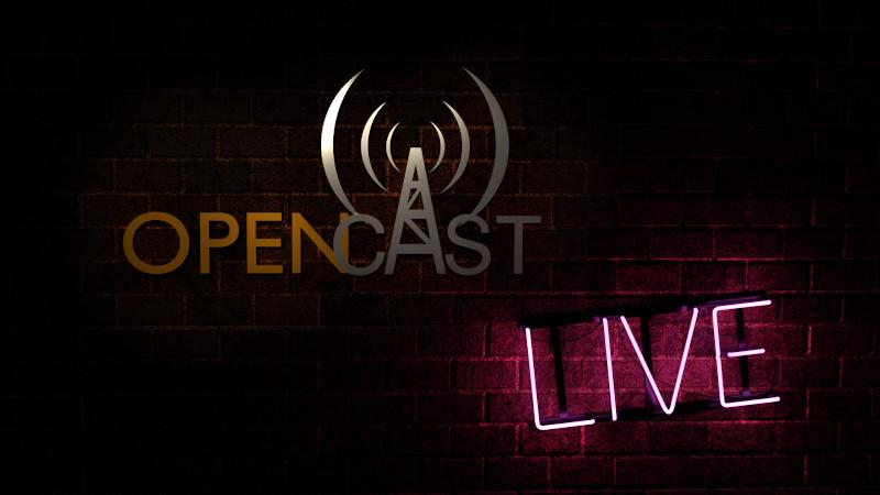 Cartello OpenCast Live